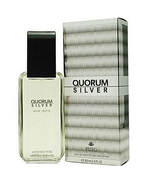 Antonio Puig Quorum Silver туалетная вода 100мл (Антонио Пюиг Кворум Сильвер)