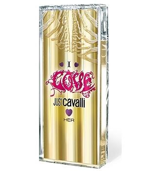 Roberto Cavalli Just Cavalli I Love Her туалетная вода 30мл тестер ()