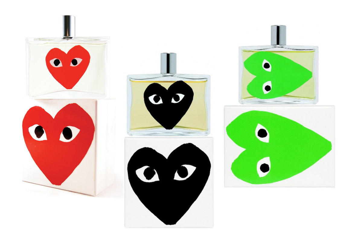 Comme Des Garcons Play Set (Green, Red, Black)