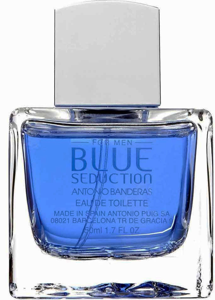 Banderas Blue Seduction for men туалетная вода 100мл (Бандерас Блю Седакшен для Мужчин)