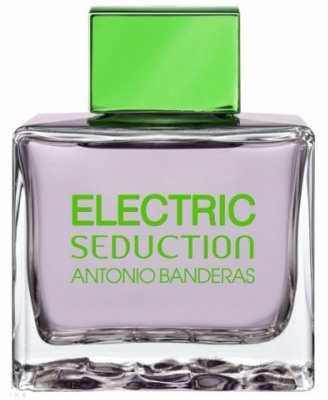 Banderas Electric Seduction In Black Men