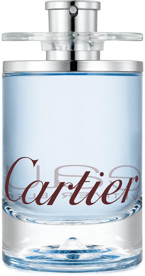 Cartier Eau de Cartier Vetiver Bleu туалетная вода 100мл (Картье О де Картье Ветвер Блю)