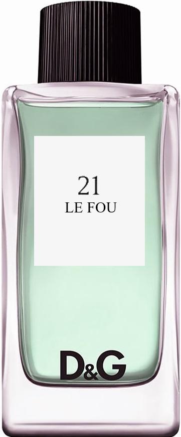 D&G 21 Le Fou туалетная вода 100мл (Дольче Габбана 21Ле Фу)