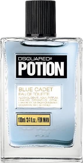 Dsquared2 Potion Blue Cadet туалетная вода 100мл тестер (Дискваред 2 Зелье Голубой Кадет)