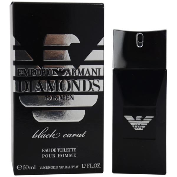 Armani Emporio Diamonds Black Carat for Him