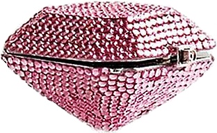 Judith Leiber Pink Crystal