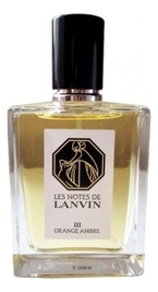 Lanvin Les Notes de III Orange Ambre