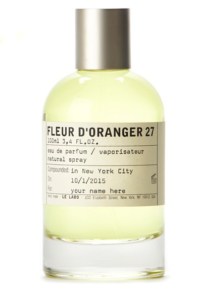 Le Labo Fleur d`Oranger 27 парфюмированная вода 50мл (Ле Лабо Апельсиновый Цветок 27)