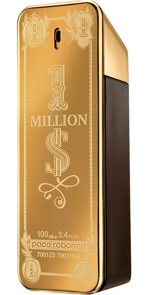 Paco Rabanne 1 Million $ туалетная вода 100мл тестер (Пако Рабанн 1 Миллион Долларов)