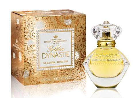 Marina de Bourbon Golden Dynastie набор (п/вода 50мл   лосьон д/тела 150мл) ()