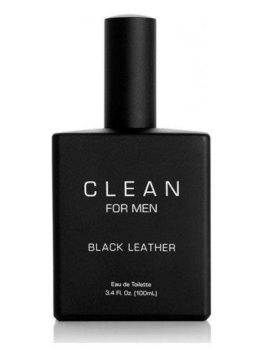 Clean Clean For Men Black Leather