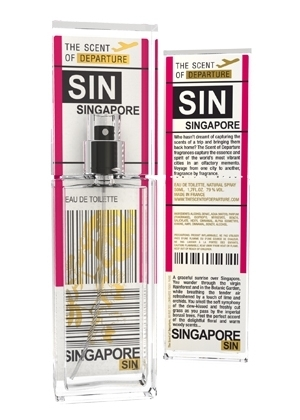 The Scent Of Departure Singapore SIN