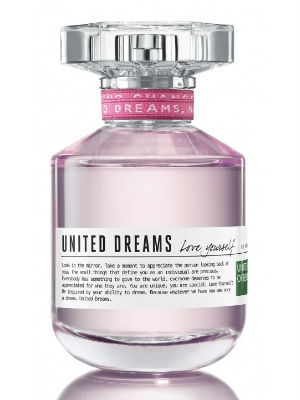 Benetton United Dreams Love Yourself туалетная вода 80мл (Бенеттон Юнайтед Дримс Люби Себя)